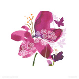 Wild Bloom Stampa gicle di Summer Thornton