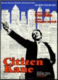 Citizen Kane Affiche montée sur bois