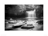 West Burton Falls, Yorkshire Giclee Print by Rod Edwards