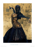 Flamenco Gold Giclée-Druck von Fletcher Sibthorp