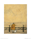 Watching The Starlings Giclee Print by Sam Toft