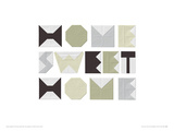 Home Sweet Home Giclee Print by Trent Siddharta