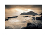Sepia Sea, Lofoten Islands Giclee Print by Andreas Stridsberg