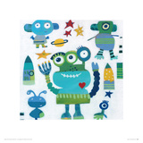 Aliens Giclee Print by Anne Davies