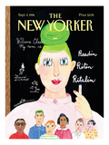The New Yorker Cover - September 9, 1996 Regular Giclee Print by Maira Kalman