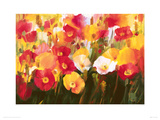 Rich Petals Giclee Print by Ann Neate