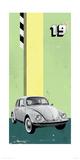 Volkswagen Giclee Print by Kareem Rizk