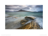 Harris from Taransay, Outer Hebrides Giclee Print by Lee Frost