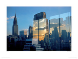 Skyline, New York, 1957 Giclee Print by Ernst Haas