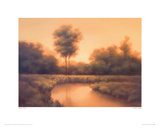 Golden Twilight Giclee Print by Darlou Gams