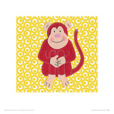 Cheeky Monkey Giclee Print by Catherine Colebrook