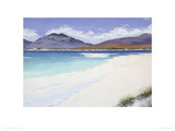 Lonely Beach, Luskentyre, Harris Giclee Print by Alexandra Steele