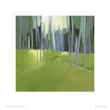 Italian Trees II Giclee Print by Charlotte Evans