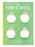 The New Yorker Cover - April 7, 1997 Regular Giclee Print by Maira Kalman