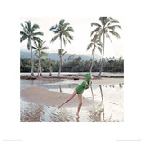 Tahiti, Vogue May 1965 Giclée-Druck von Norman Parkinson