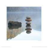 Reflected Rocks Giclee Print by Marian Hill