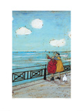 Her Favourite Cloud Giclee Print by Sam Toft