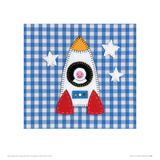 Rocket Boy Giclee Print by Catherine Colebrook
