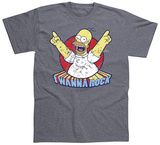 The Simpsons - I Wanna Rock Vêtements