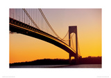 Verrazano Narrow Bridge, NY Giclee Print by Vince Streano