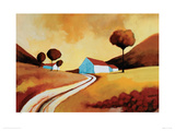Summer Sunset Giclee Print by Derek Melville