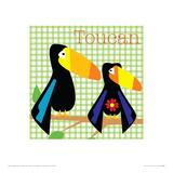Rock a Toucan Giclee Print by Liza Lewis