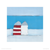 Red Stripe Giclee Print by Heidi Langridge