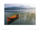 Guide Boat, Lake Placid, Adirondack State Park, New York Giclee Print by Michael Melford