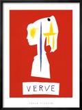 Cover For Verve, c.1954 Posters par Pablo Picasso
