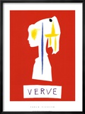 Cover For Verve, c.1954 Art by Pablo Picasso