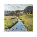 River By Day Giclee Print by Lydia Bauman