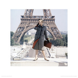 Celia Hammond, Wetherall Ad, Paris 1962 Giclee Print by Norman Parkinson