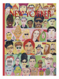 The New Yorker Cover - December 4, 1995 Regular Giclee Print by Maira Kalman