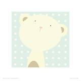 Baby Boo Bear Giclee Print by Nicola Evans