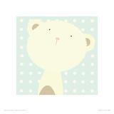 Baby Boo Bear Giclee Print by Nicola Evans