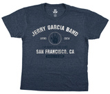 Jerry Garcia- JGB San Francisco T-shirts