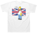 The Simpsons - English Homer T-Shirts