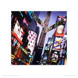 Times Square, New York Giclee Print by Philip Rostron