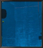 Diptychon Blau, c.1963 Posters by Max Ackermann