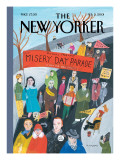 The New Yorker Cover - February 5, 2001 Premium Giclee Print by Maira Kalman