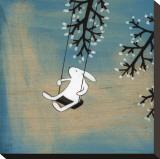 Suivez votre coeur, balançant tranquillement Reproduction transférée sur toile par Kristiana Pärn