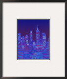 New York, New York Framed Giclee Print by Diana Ong