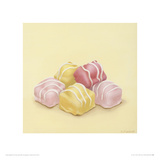 Can I have A Pink or Yellow One Giclée-Druck von Sheila Marshall