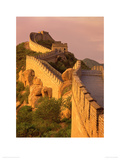 Great Wall, Badaling, China Giclee Print by Daryl Benson