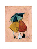 A Sneaky One Reproduction procédé giclée par Sam Toft