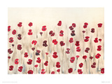 Poppy Profusion Giclee Print by Simon Fairless