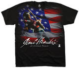 Jimi Hendrix- American Music T-Shirt