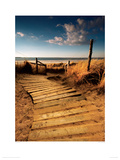 West Wittering Giclee Print by Helen Dixon