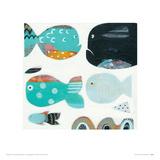 Funny Fish Giclee Print by Anne Davies