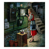 """""""Blown Fuse"""", January 28, 1956 Giclee Print by Amos Sewell"""